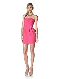 Luna  Women's Stella Strapless Dress (Fuchsia)