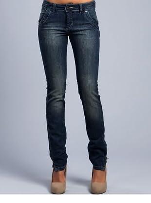Cortefiel Jeans (Marineblau)