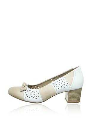 Caprice  Zapatos Alonza (Beige / Blanco)