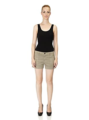J Brand Shorts Cadet Patch Pocket (Green)
