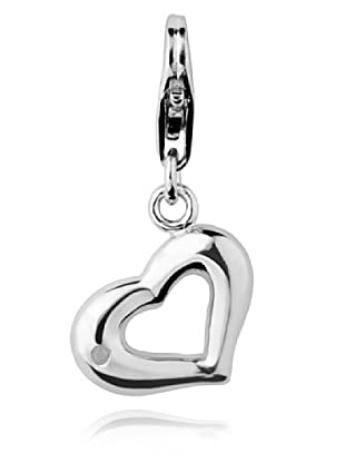 Secret Diamonds Charm Corazón Plata 925 Diamante