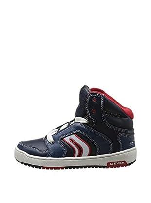 Geox Hightop Sneaker Jr Oracle