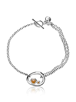 Marc O´Polo Armband Silber  orange