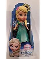 Disney Frozen Fever Toodler Elsa Mini Poseable Doll