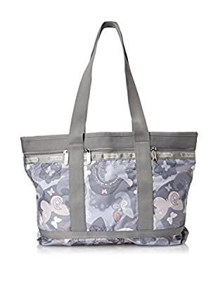 LeSportsac Women's Medium Travel Tote, All A Flutter