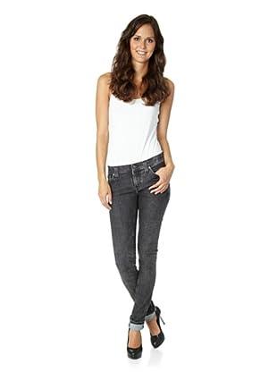Nudie Jeans Co Jeans Tight Long John Black Tears (Grau)