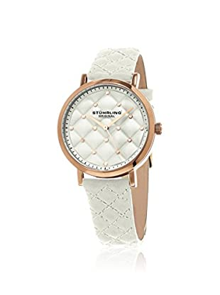 Stührling Women's 462.04 Audrey White/White Stainless Steel Watch