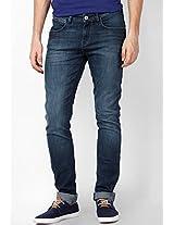 Blue Skinny Fit Camo Print Jeans (Vegas) Wrangler