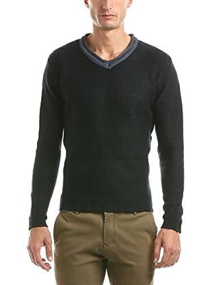 Hot Buttered Jersey V Neck Knitwear
