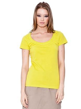 Esprit Camiseta Scoop (Amarillo)