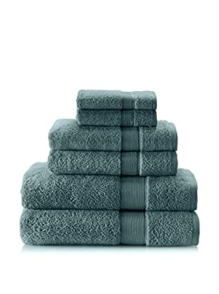 Espalma 6-Piece Signature Bath Towel Set (Everglade)