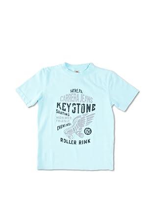 Carrera Jeans Camiseta Bambino Girocollo Jers (Azul Cielo)