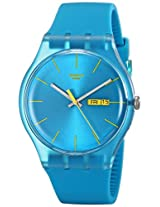 Swatch Analog Blue Dial Men's Watch - SUOL700