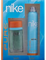 Nike Pure Gift Set for Woman (EDT,Deo)