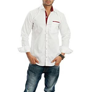 Nostra Young White Casual Shirt(NY-WHT1)