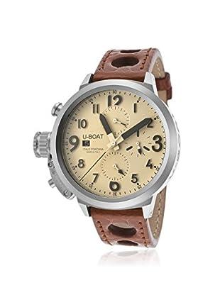 U-Boat Men's 7117 Flightdeck Chronograph Genuine Crocodile Watch