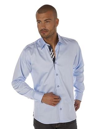 Gazoil Camisa Print Reversos (Azul Cielo)