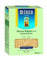 De Cecco Pasta Organic Penne Rigate, 500 g