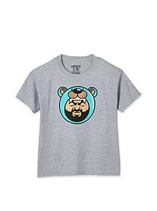 Friks Boy's Big Bear T-shirt (Grey)