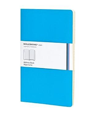 Moleskine Volant Agenda Direcciones Azul Cielo