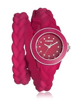 K&Bros  Reloj 9569 (Burdeos)
