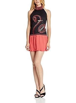Divina Providencia Vestido Flamingo