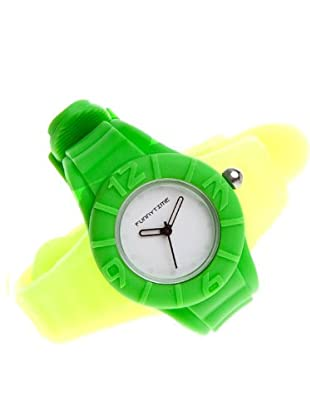 Funny Time Reloj Con Correas Intercambiables Amarillo / Verde