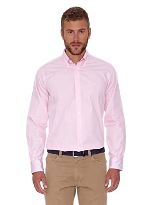 Polo Club Camisa Fitted Escudo (Rosa)