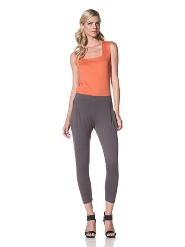 Maggie Ward Women's Summer Sweats Sarong Pant (Charcoal)