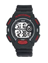 Q&Q Digital Grey Dial Men's Watch - M132J004Y