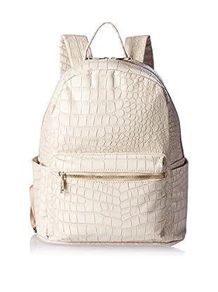 Urban Originals Women's Runway Croc Embossed Large Backpack, Stone