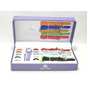 11 in 1 Multi-Dial / Strap Changeable ladies watch set