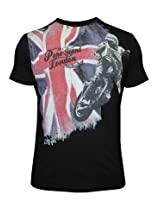 Pepe Jeans Flag And Rider Black T-Shirt