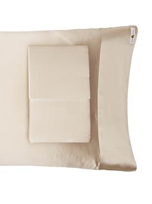Kumi Kookoon Set of 2 Silk Pillowcases (Smoke)