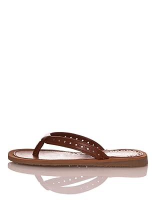 Za-patitos Sandalias Perforaciones (Cuero)