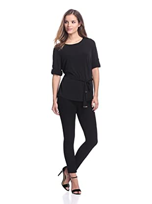 Calvin Klein Women's Belted Tunic (Black)
