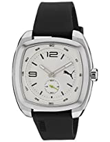 Puma Analog White Dial Men's Watch - PU103081002
