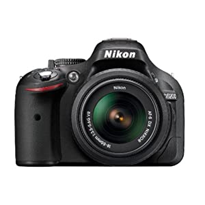Nikon D5200 24.1MP Digital SLR Camera (Black) with AF-S 18-55mm VR Lens and AF-S DX NIKKOR 35mm f/1.8G Twin Lens 4GB Card, Camera Bag