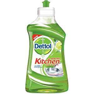 Dettol Kitchen Dish and Slab Gel - 400 ml (Lime Splash)