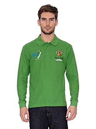 Polo Club Polo Manga Larga Regular Fit (Verde)