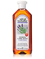 Bellmira Herbaflor Herbal Bath, Lavender, 17 Ounce Bottle
