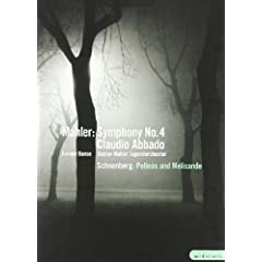 Mahler: Symphony No 4, Schoenber : Pelleas And Melisande [DVD] [Import]