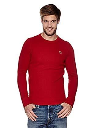 Abercrombie & Fitch Pullover Classic Crew (rot)