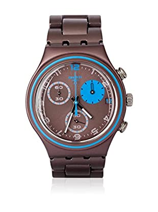 Swatch Quarzuhr Man BLAUERFLECK YCM4003AG 40 mm