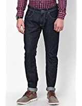 Blue Slim Fit Jeans Spykar