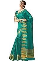 ASHIKA SOUTH TUSSAR SAREE COLLECTIONS-Green-SUT2610-VO-Art Silk-Green-SUT2610-VO-Art Silk