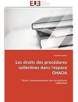 Les Droits Des Procedures Collectives Dans L'Espace Ohada (Omn.Univ.Europ.)