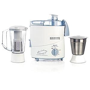 Philips HL1631 500-Watt 2 Jar Juicer Mixer Grinder (Blue)
