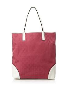Gucci Women's Logo Shopper Tote, Red