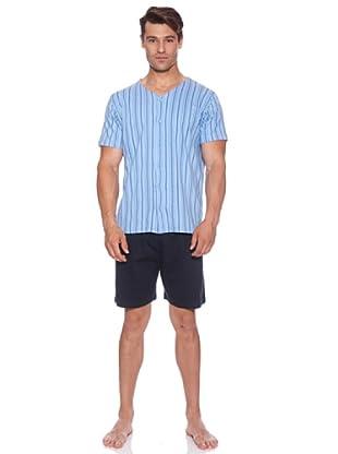 Basket Pijama Cro.Abierta Chaqueta (Azul)